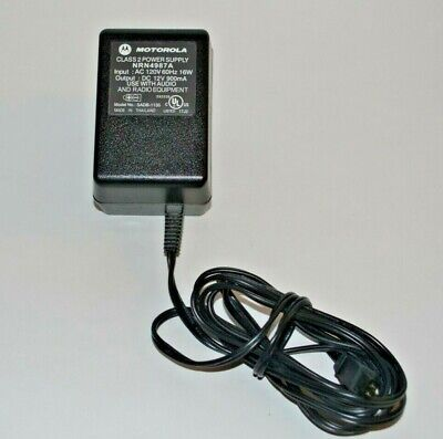 Motorola NRN4987A Power Adapter  for Minitor II , III and IV amplified chargers