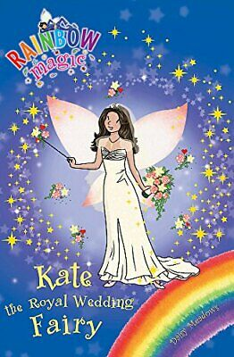 (Very Good)-Kate the Royal Wedding Fairy (Rainbow Magic) (Paperback)-Daisy Meado