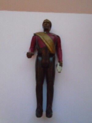 LT Worf  Vintage 1988 Galoob Star Trek Action Figure The Next Generation Used