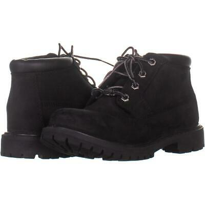 9d02043471e TIMBERLAND WATERPROOF BLACK Suede Genuine Leather Mid-Calf Boots ...