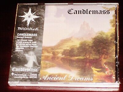 Candlemass: Ancient Dreams CD 2018 Reissue Peaceville Records EU CDVILED727 NEW