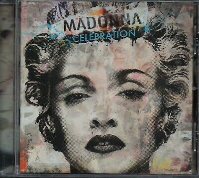 MADONNA - Celebration - CD Album *Best Of**Hits**Collection**Singles*