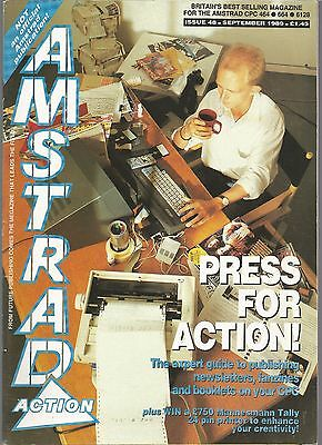 Amstrad Action - Issue 48 - September 1989 - Magazine