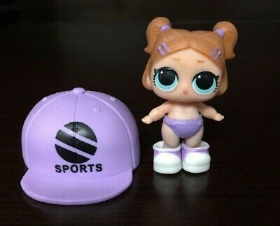 LOL Surprise Lil Sprints Doll ConfettiPop LittleSisters Sis Ball Balls AUTHENTIC