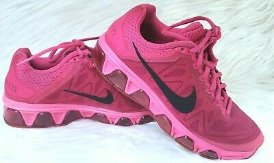 d088203c91 Nike Womens Air Max Tailwind 7 Running Shoes 683635-602 Size 6 Pink Fuchsia.