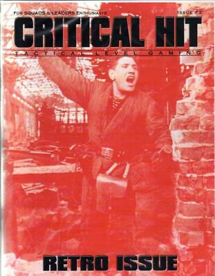 """Critical H ASL Mag Retro #3 """"Rangers, The French in ASL, 8 Scenarios""""  Mag MINT"""