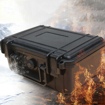 Water Proof Hard Carry Case Bag Tool Storage Box Portable Organizer Shock-proof