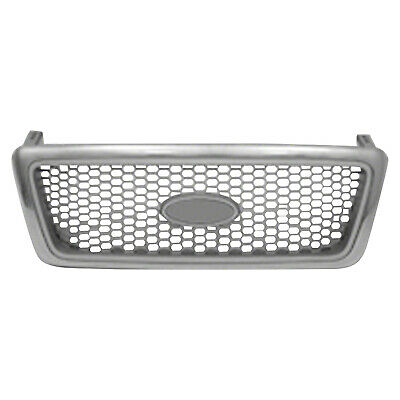 CPP Chrome Grill Assembly for 2004-2008 Ford F-150 Grille FO1200427