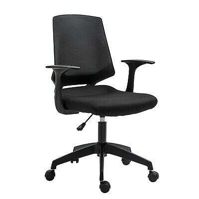 Ergonomic Home Office Chair Height Adjustable Task Seat 360° Swivel