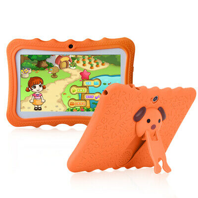 """Pink 7"""" Tablet PC 8GB Android Wifi Quad Core Educational Appst Gift For Kids"""