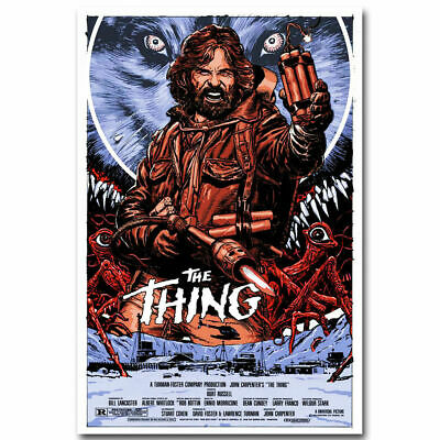 The Thing Horror Classic Movie Art Silk Poster 12x18 24x36