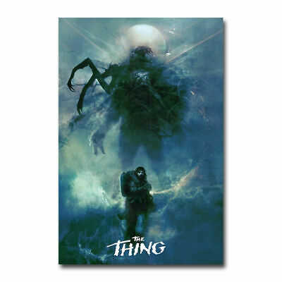 The Thing Classic Horror Movie Art Silk Poster 12x18 24x36