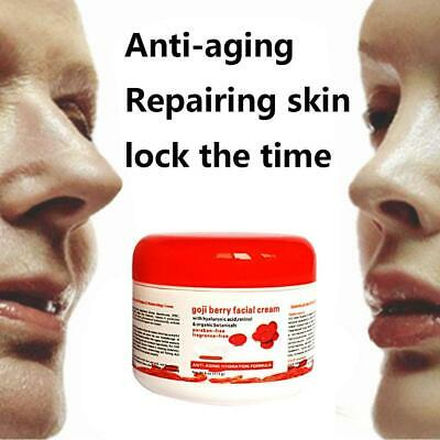Goji Face Day & Night Cream Moisturiser Hydrating Face Anti Wrinkle Skin Care AU