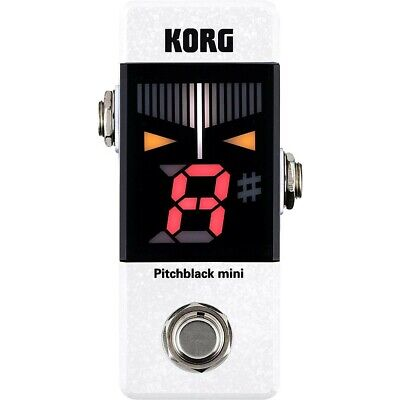 Korg Pitchblack Mini Limited Edition Pedal Tuner White