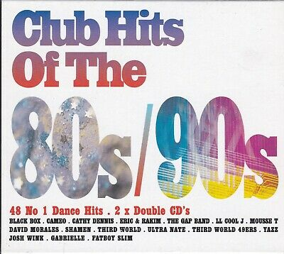 Various Artists - Club Hits Of The 80's & 90's [CD Box Set 2001]