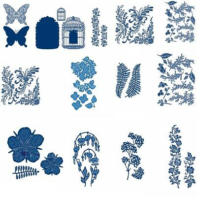 Butterfly Lace Nature Metal Cutting Dies Stencil Crafts Scrapbooking Embossing
