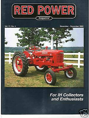 INTERNATIONAL FARMALL IH TRACTOR COFFEE CUPS NEW RED - SET OF 4 pc