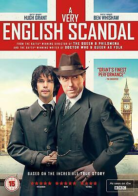 A Very English Scandal Complete Season 1  Hugh Grant Dvd Region 4 New & Sealed