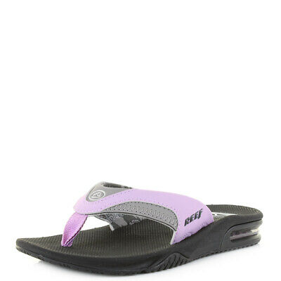5f6ad7e06 REEF FANNING BLACK/MINT Green/White Seafoam Flip Flops Thong Sandals ...