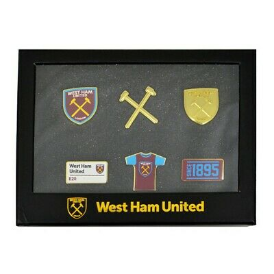 West Ham United FC - Set oficial de pines (SG13396)