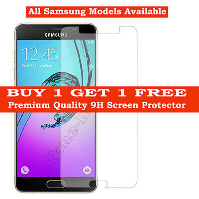 Tempered Glass Screen Protector For Samsung Galaxy J3 J6 J7 A3 A6 A8 2017 /2018