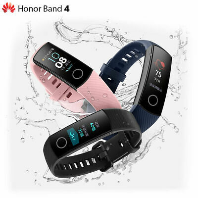 "Huawei Honor Band 4 Wristband Smart Watch Uhr AMOLED COLOR 0.95"" Touchscreen DEU"
