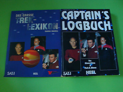 Star Trek - Captain´s Logbuch + Das grosse Trek Lexikon