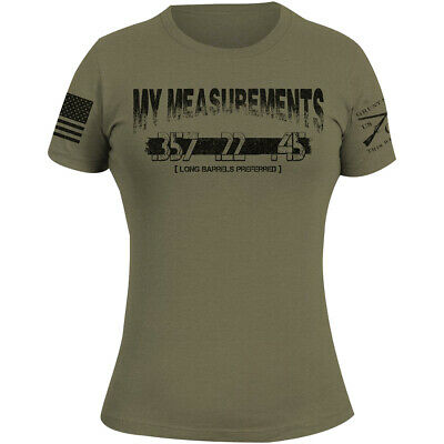 Grunt Style Women's My Measurements 2.0 T-Shirt - Olive
