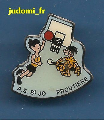 Pin's pin BASKET-BALL AS ST JO PROUTIERE (ref 045)