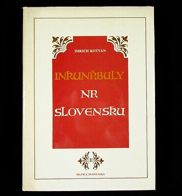 BOOK Incunabula in Slovakia medieval printing document history archive incunable
