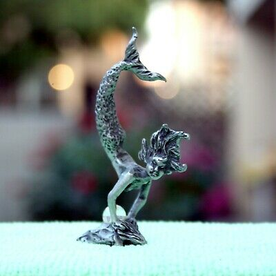 Pewter Mermaid Collectible Figurine