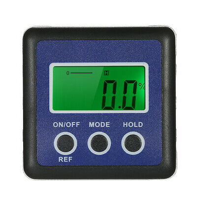 Portable Digital Level Protractor Angle Gauge Finder Inclinometer Bevel Box T1U8