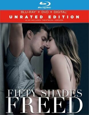 Fifty Shades Freed Bluray + DVD combo set free fast shipping No digital included