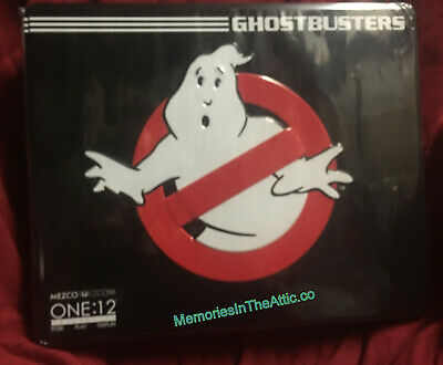 NEW Mezco Toyz Ghostbusters One:12 Collective Deluxe Tin Box Figure Set IN STOCK