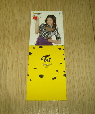 Twice 3rd Mini Album Coaster LANE2 Knock Knock Goods SaNa Photo Card official