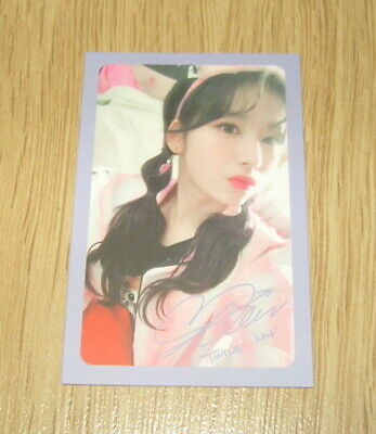Twice 5th mini Album What is Love SaNa F Photo Card official