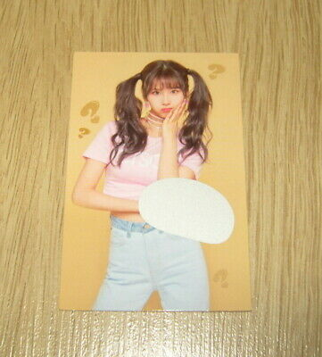 Twice 5th mini Album What is Love SaNa Scratch Photo Card official