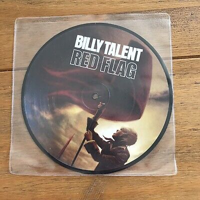 "Billy Talent - Red Flag 7"" Picture Disc Vinyl"