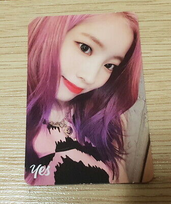Twice 6th mini Album Yes or Yes Dahyun E Photo Card official