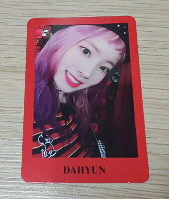 Twice 6th mini Album Yes or Yes Dahyun G Photo Card official
