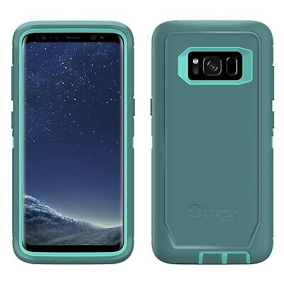 OtterBox Defender Case w/Holster Belt Clip For Samsung Galaxy S8 (Aqua Mint)