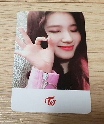 Twice 6th mini Album Yes or Yes Sana I Photo Card official