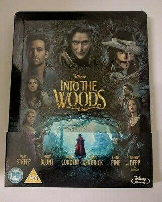 Into The Woods (Zavvi Exclusive - Blu-ray Steelbook w/ Slipcover, 2014)
