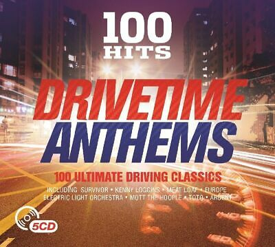 100 HITS: DRIVETIME ANTHEMS 5-CD ALBUM SET (Released 2016)
