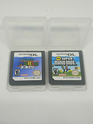 Super Mario 64 DS + New Super Mario Bros for ds nds ndsi game card us Version