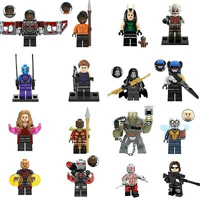 16pc Lot Marvel Super Heroes Avengers Infinity War Extended Set