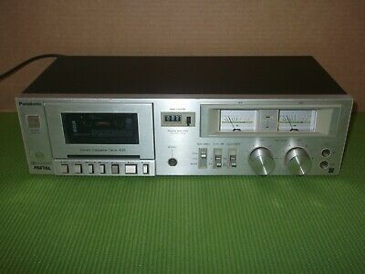 Panasonic RS-635 Hi-fi Stereo Cassette Deck - Made in Japan