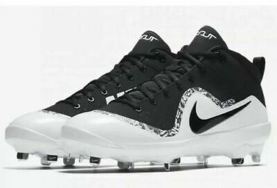 meet 4e7ef 6d204 Nike Force 917920-001 Air Trout 4 Pro Metal Mid Baseball Cleats Size 10