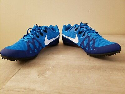 reputable site 8f479 233e6 Nike 806555-414 Zoom Rival M8 Track Field Sprint Spikes Unisex Shoes Size 11