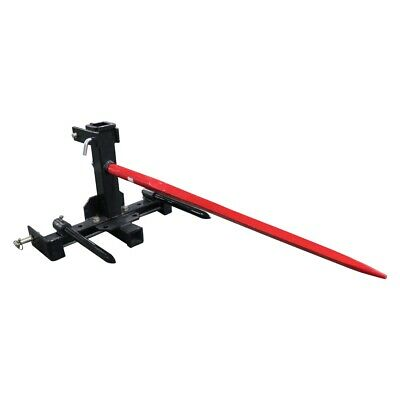Transformer Tractor Hitch With Hay Spears For Moving Hay Bales  3 Point Cat 1